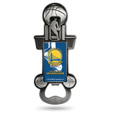 Golden State Warriors Bottle Opener Party Starter Style