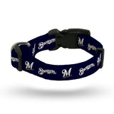 Milwaukee Brewers Pet Collar Size L