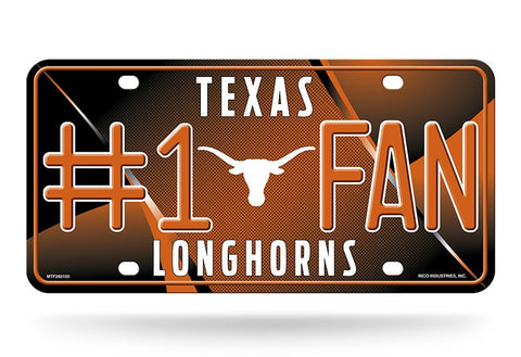 Texas Longhorns License Plate #1 Fan