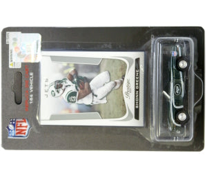 New York Jets Shonn Greene 1:64 Chevy Camaro with Trading Card