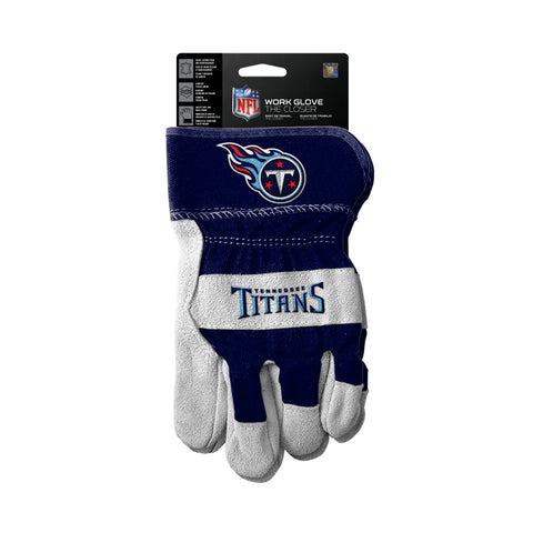 Tennessee Titans Gloves Work Style The Closer Design