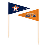 Houston Astros Toothpick Flags