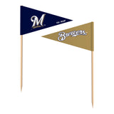Milwaukee Brewers Toothpick Flags