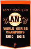 San Francisco Giants Banner 24x36 Wool Dynasty Pre-2012