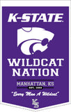 Kansas State Wildcats Banner 18x27 PowerHouse