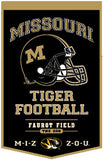 Missouri Tigers Banner 18x27 Wool PowerHouse
