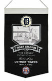 Detroit Tigers Banner 15x24 Wool Stadium Tiger Stadium