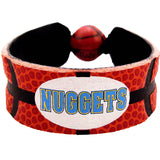 Denver Nuggets Classic Basketball Bracelet