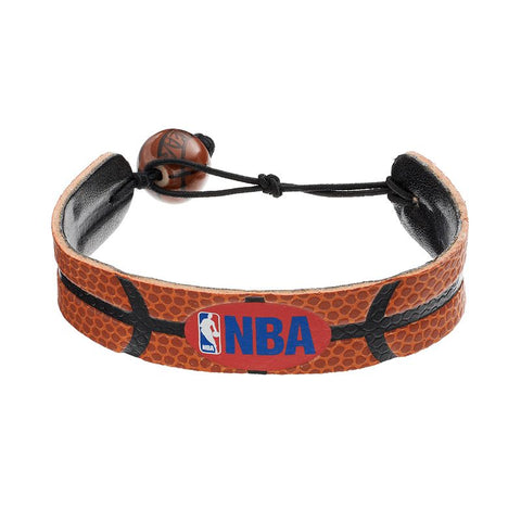 NBA Logo Man Basketball Bracelet