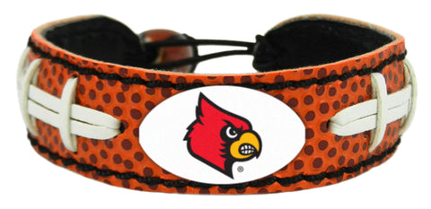 Louisville Cardinals Classic Football Bracelet