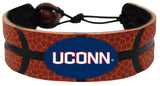 Connecticut Huskies Bracelet Classic Basketball