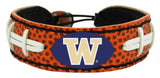 Washington Huskies Classic Football Bracelet