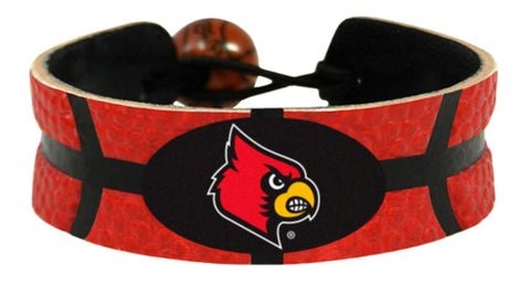 Louisville Cardinals Bracelet - Team Color Basketball