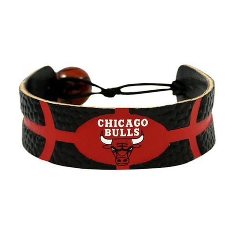 Chicago Bulls Bracelet Team Color Basketball