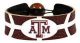 Texas A&M Aggies Team Color Basketball Bracelet