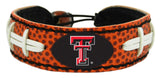 Texas Tech Red Raiders Classic Football Bracelet
