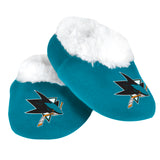 San Jose Sharks Baby Bootie Slippers - 12pc Case