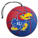 Kansas Jayhawks Air Freshener Set - 3 Pack