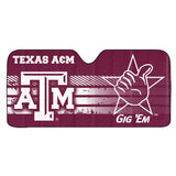 Texas A&M Aggies Auto Sun Shade 59x27