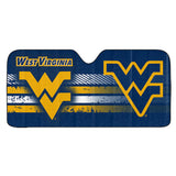 West Virginia Mountaineers Auto Sun Shade 59x27