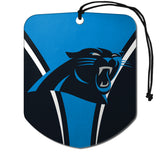 Carolina Panthers Air Freshener Shield Design 2 Pack