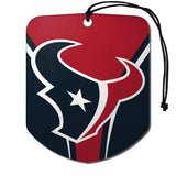 Houston Texans Air Freshener Shield Design 2 Pack
