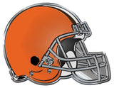 Cleveland Browns Auto Emblem - Color