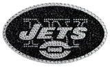 New York Jets Auto Emblem - Rhinestone Bling