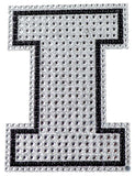 Illinois Fighting Illini Auto Emblem - Rhinestone Bling