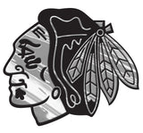Chicago Blackhawks Auto Emblem - Silver