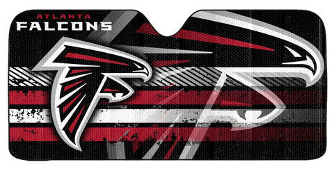 "Atlanta Falcons Auto Sun Shade - 59""x27"""