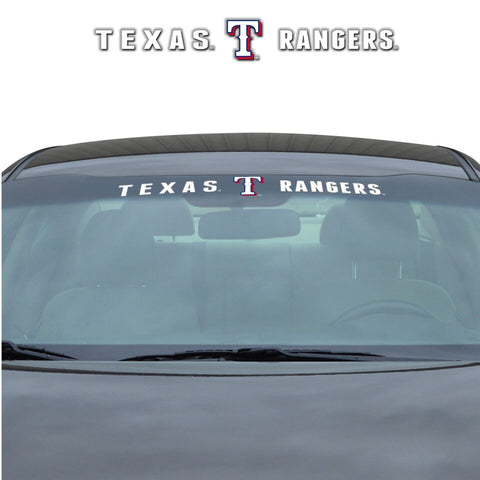 Texas Rangers Decal 35x4 Windshield