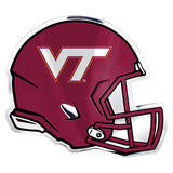 Virginia Tech Hokies Auto Emblem Helmet Design