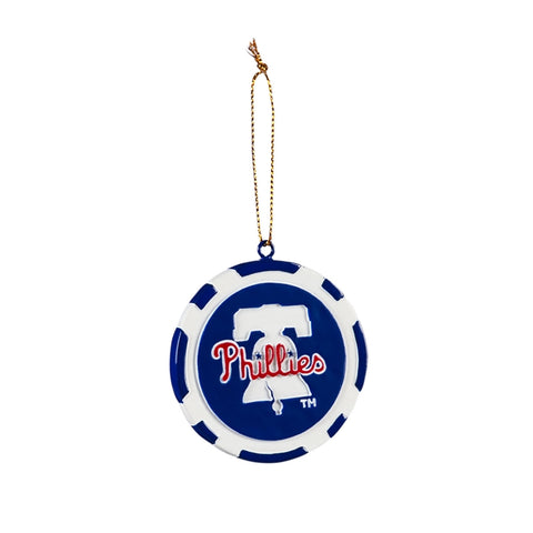 Philadelphia Phillies Ornament Game Chip Special Order