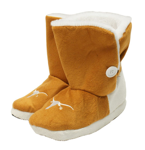 Texas Longhorns Slippers - Womens Boot