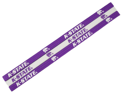 Kansas State Wildcats Elastic Headbands