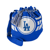 Los Angeles Dodgers Bag Ripple Drawstring Bucket Style