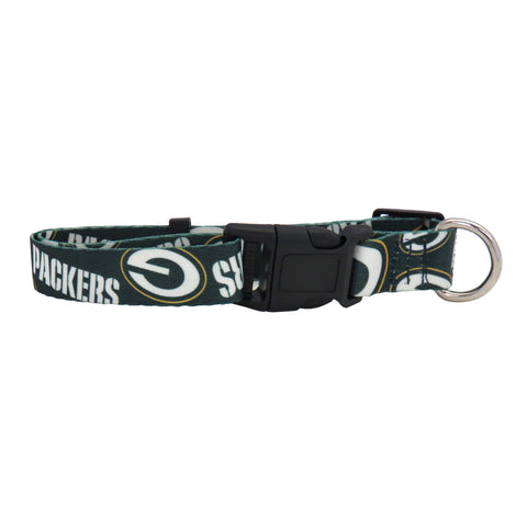 Green Bay Packers Pet Collar Size M