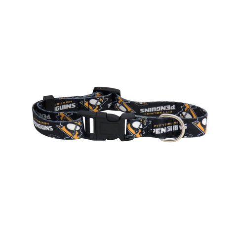 Pittsburgh Penguins Pet Collar Size L