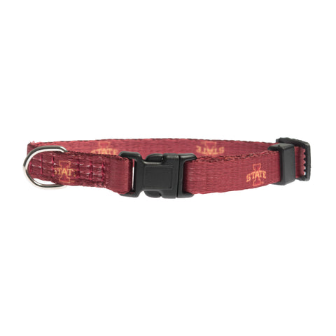 Iowa State Cylcones Pet Collar Size XS Special Order