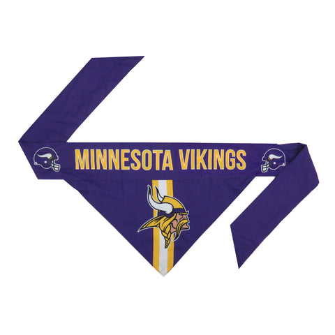 Minnesota Vikings Pet Bandanna Size XS