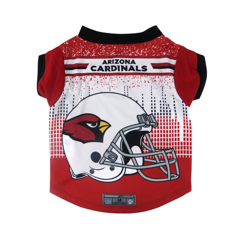 Arizona Cardinals Pet Performance Tee Shirt Size M
