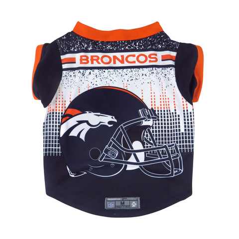 Denver Broncos Pet Performance Tee Shirt Size XL