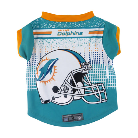 Miami Dolphins Pet Performance Tee Shirt Size L