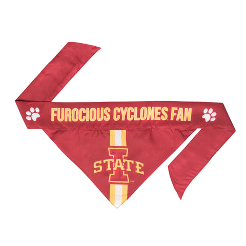 Iowa State Cyclones Pet Bandanna Size XS