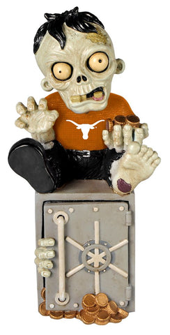 Texas Longhorns Zombie Figurine Bank