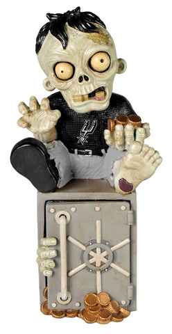 San Antonio Spurs Zombie Figurine Bank