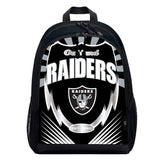 Oakland Raiders Backpack Lightning Style