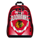 Chicago Blackhawks Backpack Lightning Style