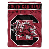South Carolina Gamecocks Blanket 60x80 Raschel Basic Design Special Order